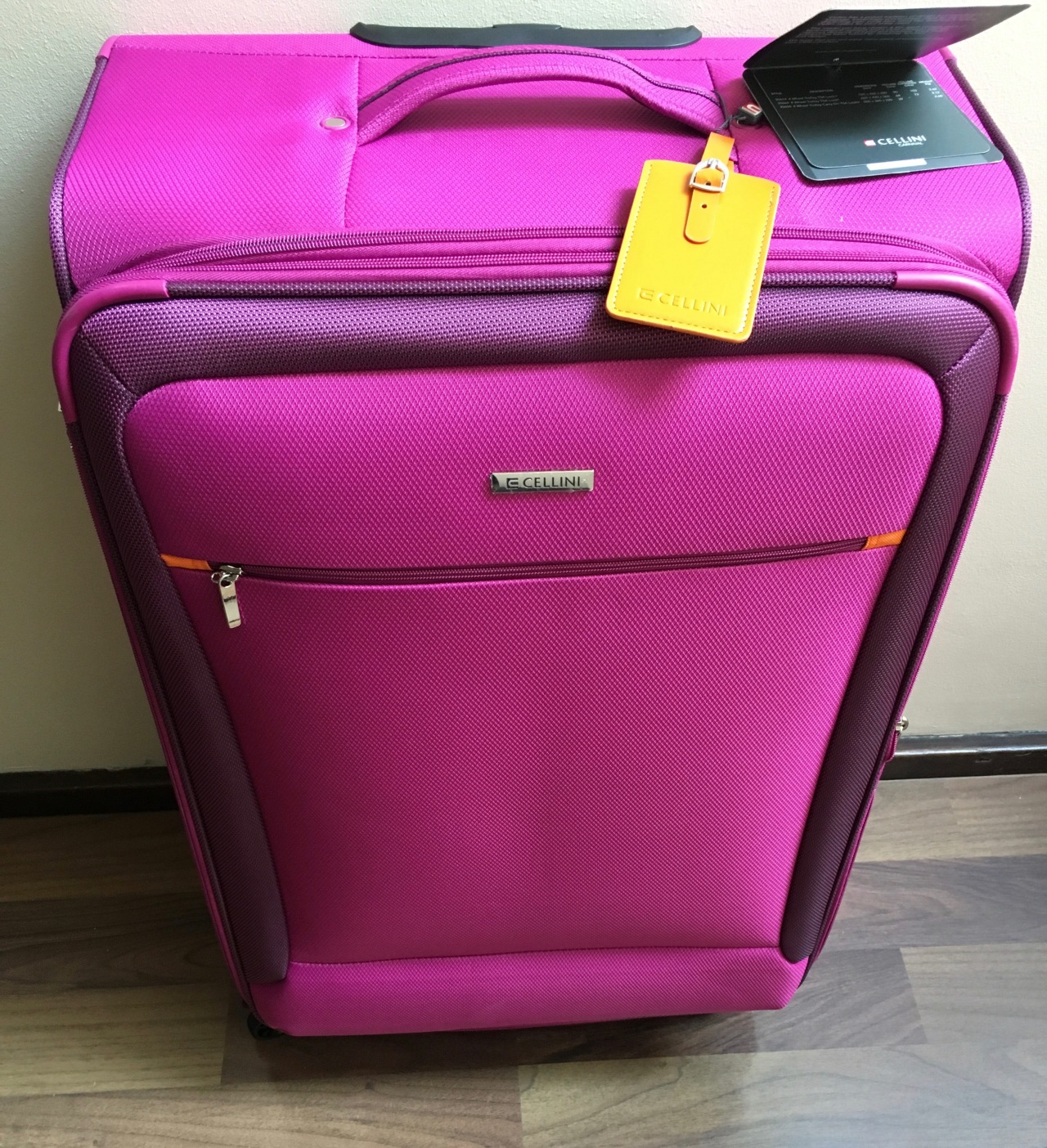 The right suitcase, makes travelling much easier